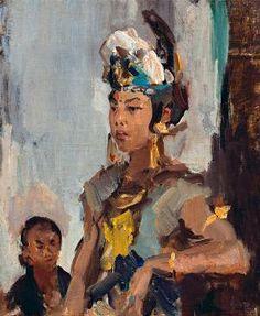 Isaac Israëls - Javaanse prinses