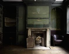 Home Interior Ideas 5 Favorites: Tombstones as Art Halloween Edition : Remodelista.Home Interior Ideas 5 Favorites: Tombstones as Art Halloween Edition : Remodelista Georgian Interiors, Georgian Homes, Vintage Interiors, Rustic Interiors, Shiplap Paneling, Panelling, Georgian Fireplaces, Beautiful Ruins, Fire Surround