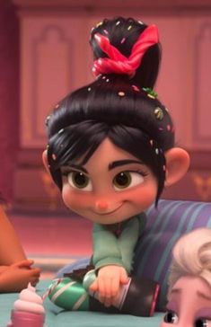 vanellope looks so like u when she blushes im gonna Cry Cartoon Wallpaper Iphone, Disney Phone Wallpaper, Cute Cartoon Wallpapers, Cartoon Profile Pictures, Cartoon Pics, Girl Cartoon, Disney Icons, Disney Art, Vanellope Y Ralph
