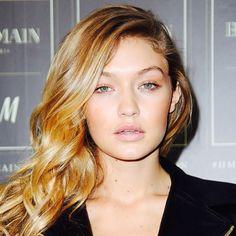 Gigi's sun-kissed skin