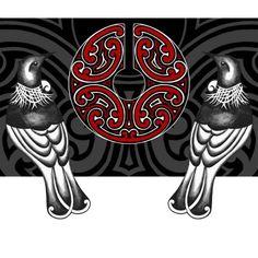 Graceful Endeavour by NZ Fine Art Printmaker Susan Haywood-Smith Bird Design, Design Art, Art Maori, Maori Symbols, Maori Patterns, Sculpture Art, Metal Sculptures, Abstract Sculpture, Bronze Sculpture