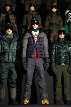 #Moncler Grenoble, men's insulated jacket