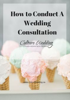 How to conduct a wedding consultation. #Weddingplanners Find out how to effectively conduct a wedding consultation http://www.culturewedding.ca/how-to-conduct-a-wedding-consultation/