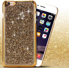 Luxury Crystal Diamond IPhone 6S plus Cases Cover Bling Rhinestone Cute Case for 6/6S Plus 5/5S Bing Case