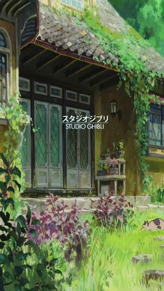 Photo/ Phone-Background Blog, mihkoshiba:  studio ghibli wallpapers