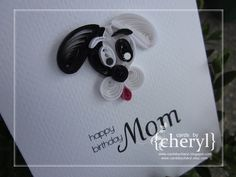 quilled dog