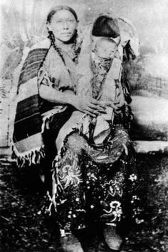 Indian woman and papoose :: Photographs - Western History