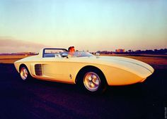 1962 Ford Mustang Roadster Concept Car