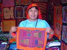 Rita Smith Mola Gallery Molas for Sale Molitas for Sale Art & Crafts from Panama Mola Clothing Kuna