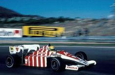 1984 GP Porugalii (Ayrton Senna) Toleman TG184 - Hart