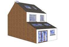 Single storey mid-terrace extension x (d) - Extensions job in Plymouth, Devon - MyBuilder