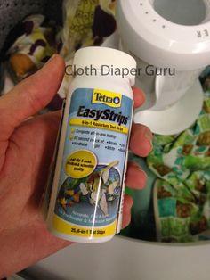 Cloth Diaper Guru: Water hardness and pH testing for #clothdiaper Laundry