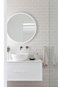 Retro Home Decor .Retro Home Decor Diy Bathroom, Bathroom Renos, Ensuite Bathrooms, Small Bathroom, Remodel Bathroom, Shower Remodel, Bathroom Fixtures, Cute Home Decor, Home Decor Kitchen
