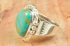 Crow Spring Turquoise Ring