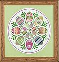 Eggs Ala Round - Cross Stitch Pattern