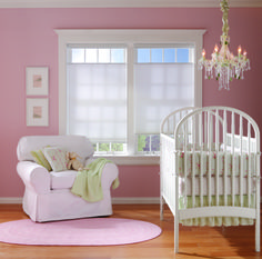 Bali Cellular Cordless Shades For Your Baby Room! Cordless Blinds And  Shades Are Safer For