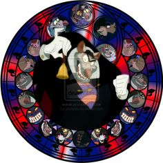 Ratigan stained glass by jeorje90.deviantart.com