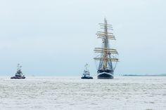 Kruzenshtern - The Russian tallship Kruzenshtern during the Sail in of DelfSail (NL) 2016.