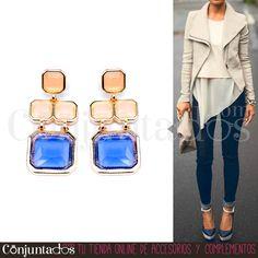 Ir al trabajo cómoda y con #estilo es fácil con nuestros #pendientes Blair. Son muy ligeros y van con todo ★ Precio: 10,95 € en http://www.conjuntados.com/es/pendientes/pendientes-largos/pendientes-blair-dorados-con-cristales-lilas-y-rosas.html ★ #novedades #earrings #joyitas #jewelry #bisutería #bijoux #accesorios #complementos #moda #fashion #style #GustosParaTodas #ParaTodosLosGustos