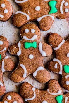 30 minutes · Vegetarian · Serves 36 · These adorable soft gingerbread cutout cookies are the perfect holiday cookie tray addition. Spiced with molasses and lots of warm winter spices - you'll be sure to LOVE these cookies! Cookie Recipes From Scratch, Healthy Cookie Recipes, Best Christmas Cookies, Holiday Cookies, Christmas Ideas, Merry Christmas, Party Platters, Gingerbread Cookies
