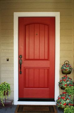 This is the door and color I want  with Spanish olive for house with bright white trim and oil rubbed accents ( one day)