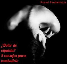 El dolor de espalda es algo que le pasa a mucho españoles, de hecho es uno de las causas más probables de bajas laborales, yéndose a más de 70 días al año para los mayores de 55, incidiendo en mayor medida en las mujeres. http://blog.rosvelparafarmacia.com/dolor-de-espalda/