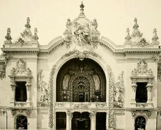 The Palace of Decorative Arts at the Exposition Universelle in 1900, Paris