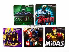 15 - REAL STEEL Stickers Boys Party Favors Goody Loot Bag Fillers Supply Heroes