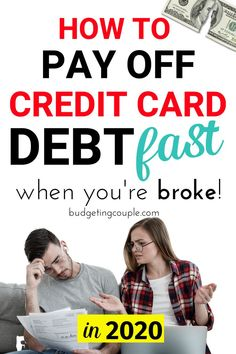 Use our ultimate guide to pay off credit card debt fast in These genius (yet simple) budgeting tips and money saving tricks are the key to paying off debt quickly and efficiently! Use your budget, consolidated credit options, and frugal tips to Credit Card Hacks, Best Credit Cards, Credit Score, Credit Loan, Credit Check, Paying Off Credit Cards, Saving For College, Credit Card Interest, Get Out Of Debt