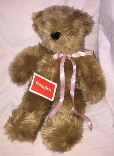 Vintage Ruggles Stuffed Plush Bear 1989 North American Bear Co 4049 NWT #NorthAmericanBearCo