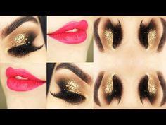 Make para o Ano Novo / New Years Eve Makeup Tutorial