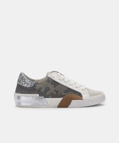 ZINA SNEAKERS IN CAMO CANVAS – Dolce Vita