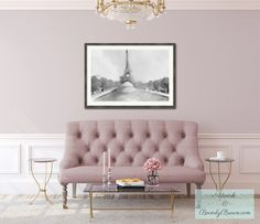 DREAM HOME! Mauve pink Parisian Apartment inspiration.