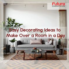 Get the Easy Decorating Ideas to Make Over a Room in a Day To know more Visit: http://www.futurainterior.com/ #FuturaInterior #ModularKitchen #InteriorDesigns #InteriorDesigners #Designs #Decor #Ideas #Room