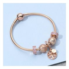4f83b64bb Pandora charms and bracelets dipped in rose gold is utter perfection. NEW #Pandora  Rose