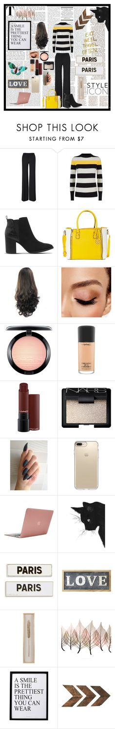 """Untitled #10"" by glamorpeace ❤ liked on Polyvore featuring Oris, Roland Mouret, Jaeger, Office, Avon, MAC Cosmetics, NARS Cosmetics, Speck, Incase and Rosanna"