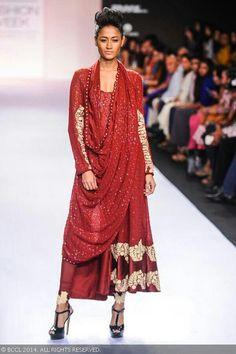 Indo western look