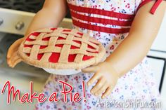 Doll Food Craft: How To Make Butterfly Cookies (With Free Pattern! American Girl Food, My American Girl Doll, American Girl Crafts, American Girl Clothes, American Girl Accessories, Doll Accessories, Ag Doll Crafts, American Girl Furniture, Doll Food
