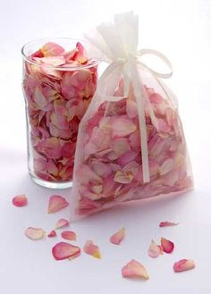 Real Flower Petal Confetti, Natural Rose Petals, Wedding Cones. Slightly more expensive option from a different company.