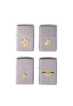 Army Chrome Military Crest Zippo Lighter ! Buy Now at gorillasurplus.com