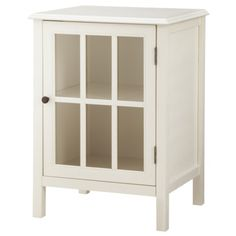 Threshold™ Windham One Door Accent Cabinet  $90 to hide receiver & cable box in living room