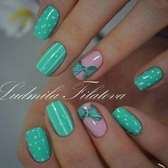 Found this gorgeous nails on Nail Designs app! Green Nail Designs, Fall Nail Art Designs, Acrylic Nail Designs, Acrylic Nail Shapes, Best Acrylic Nails, Purple Nails, Green Nails, Short Nail Manicure, Butterfly Nail Art