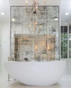 Luxury Commercial & Residential Architecture & Interior Design High end architecture & interior design projects nationwide. An award winning team of architects at the Alabama based Christopher Architecture & Interiors. Bathroom Design Luxury, Modern Bathroom, Small Bathroom, Master Bathrooms, Bathroom Ideas, Bathroom Mirrors, Minimal Bathroom, Bathroom Cabinets, Bathroom Designs