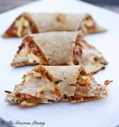 Clean Eating Pizza Rollups? Like Hot Pockets? Oh wow, these looks amazing.  I mean I love hot pockets, but not so much the stuff that is inside of them.  These are extremely clean and I'm pretty sure probably taste amazing.
