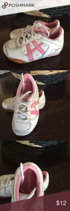 Little girl Diesel shoes Little girl size 7. Has been worn but in good condition. Adorable on! Diesel Shoes Sneakers