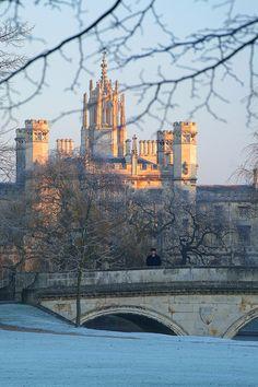 St John's and Trinity Bridge                #England #travel #holiday