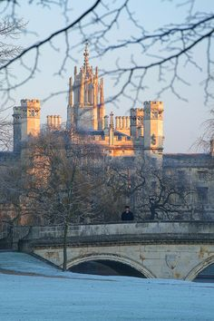 ~St John's and Trinity Bridge - Cambridge University~