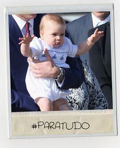 Baby George em 8 caretas incrivelmente lindas