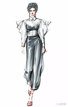 Fashion illustration with style  |♦F&I♦