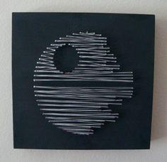 Retro Set of Star Wars String Wall Art
